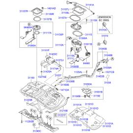 Фильтр топливный Hyundai Tucson 1 (2004-2010)