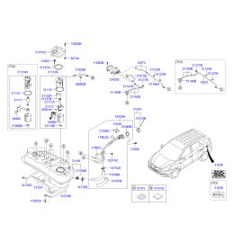 Насос топливный в сборе Hyundai ix35 (2009-2015)