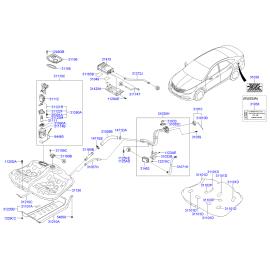 Модуль бензонасоса Hyundai i40 (2012-н.в.)