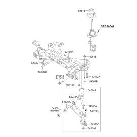 Рычаг передний правый KIA Sportage 3 (2010-2015)