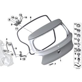 Амортизатор крышки багажника BMW 1 F20 (2011-2015)