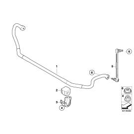 Втулка переднего стабилизатора BMW 1 E87 (2004-2011)