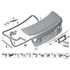 Амортизатор крышки багажника BMW 3 F30 (2012-н.в.)