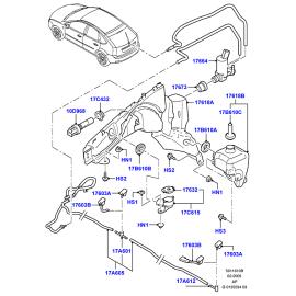 Бачок омывателя Ford Focus 2 (2005-2011)