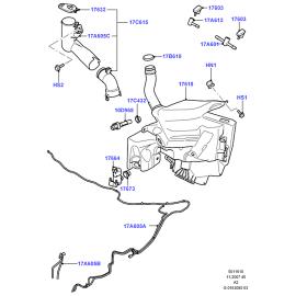 Бачок омывателя Ford Mondeo 4 (2007-2015)