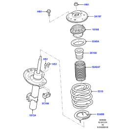 Отбойник амортизатора переднего Ford Mondeo 4 (2007-2015)