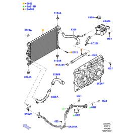 Бачок расширительный Ford Explorer 5 (2011-н.в.)