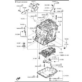 Фильтр АКПП Mazda 6 GJ (2012-н.в.)