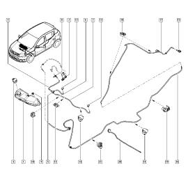 Бачок омывателя Renault Logan 2 (2014-н.в.)