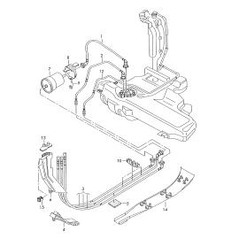 Фильтр топливный Skoda Superb 2 (2008-2015)