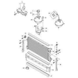 Бачок расширительный Skoda Fabia 2 (2010-2015)