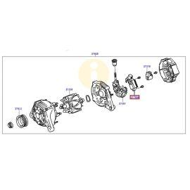 Регулятор напряжения генератора Toyota Corolla e150 (2006-2012)