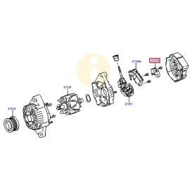 Шетки генератора Toyota Prado 120 (2002-2009)