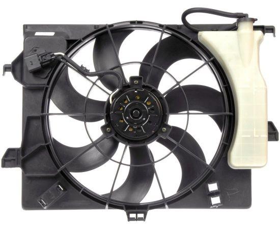 Вентилятор радиатора охлаждения в сборе Hyundai Solaris (2010-н.в.)