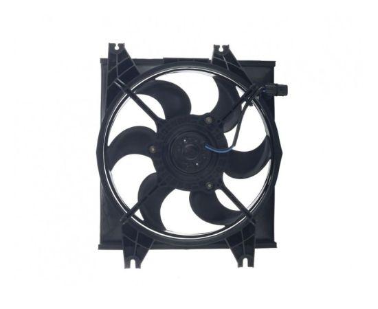 Вентилятор охлаждения кондиционера Hyundai Accent АКПП (2001-2006)